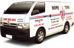 Home Tune Mobile Mechanics Service Van